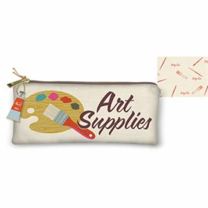 ART SUPPLIES CANVAS UTILITY BAG BY MODA - MULTIPLE OF 4