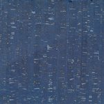 "CORK FABRIC 18"" X 15"" BY MODA - BLUE / SILVER - MULTIPLE 3"