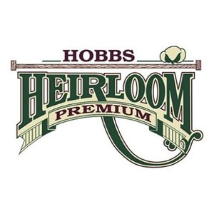 HEIRLOOM COTTON / POLYESTER BLEND BATTING / QUEEN SIZE by Hobbs