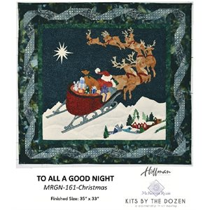 TO ALL A GOOD NIGHT KIT - CHRISTMAS BY HOFFMAN