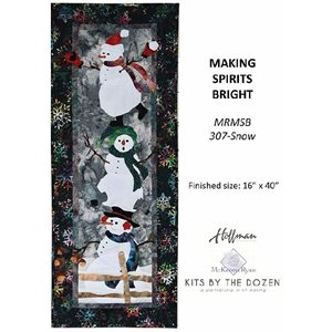 MAKING SPIRITS BRIGHT KIT - SNOW BY HOFFMAN