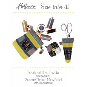 TOOLS OF THE TRADE KIT BY HOFFMAN - CHARTREUSE