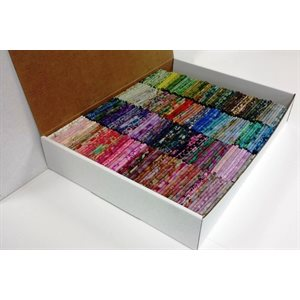 MAPLE CANADIAN FAT QUARTERS BATIK BOX - 250 PCS.